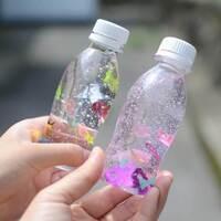 【心が落ち着くと大人気】「センサリーボトル」子どもの持ちやすさ優先なら「R-1」の空きボトルが大正解!