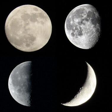 【月の満ち欠け】満月、三日月…月の形が変わる仕組みと名前をわかりやすく解説!