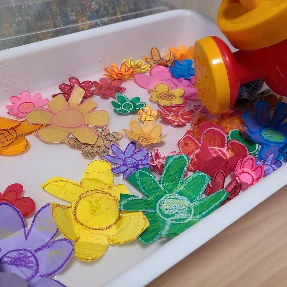 【かわいすぎる実験をおやこで】「お水をあげたらお花が咲いた♪」毎日のおうち時間にぴったり!