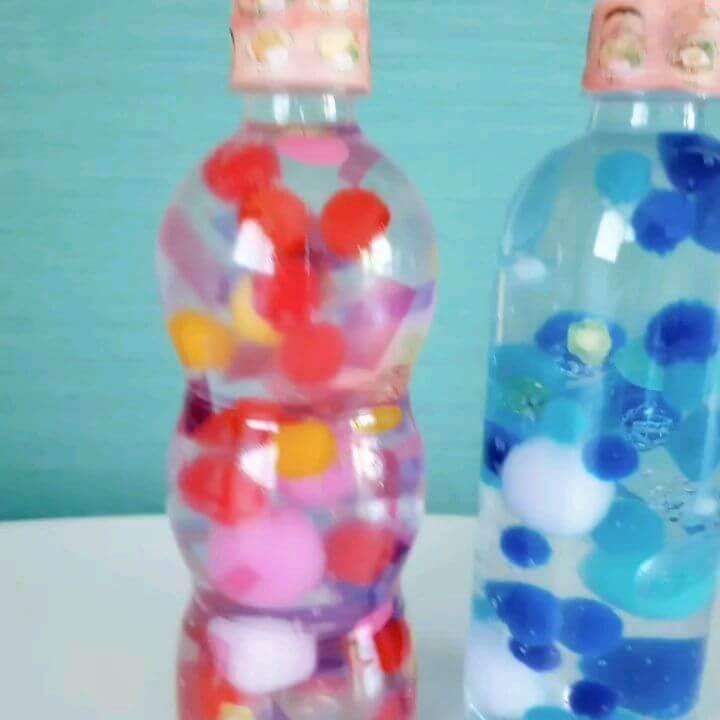 モンテッソーリ教育で注目!子どもの心を落ち着かせる「センサリーボトル」は100円グッズで簡単に作れる!